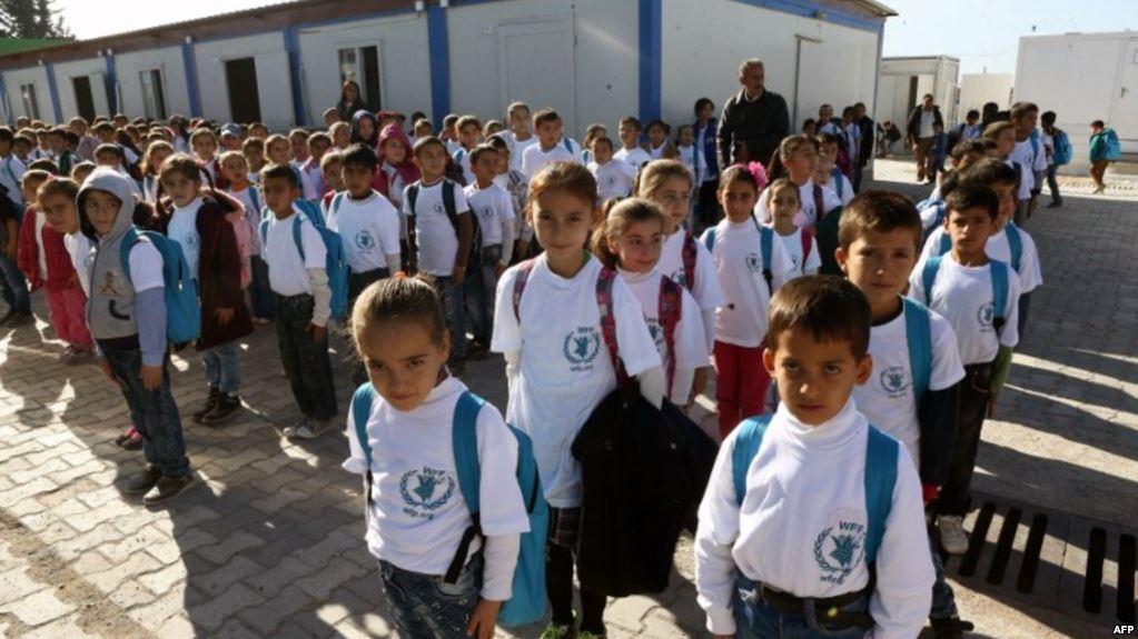Enfants syriens réfugiés en Turquie