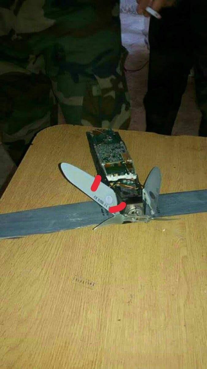 Un drone abattu au dessus de la base