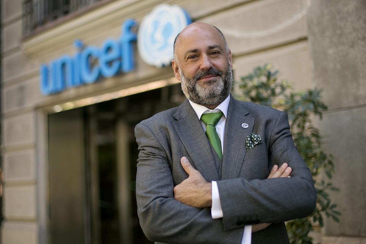 Fran Equiza, représentant de l'UNICEF en Syrie