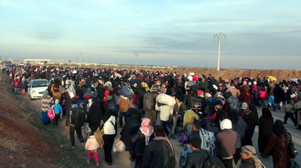 Les combats dans les provinces d'Idlib et de Hama provoquent toujours des déplacements forcés