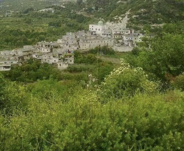 Le village de Toffahiya en province d'Idlib avant les bombardements
