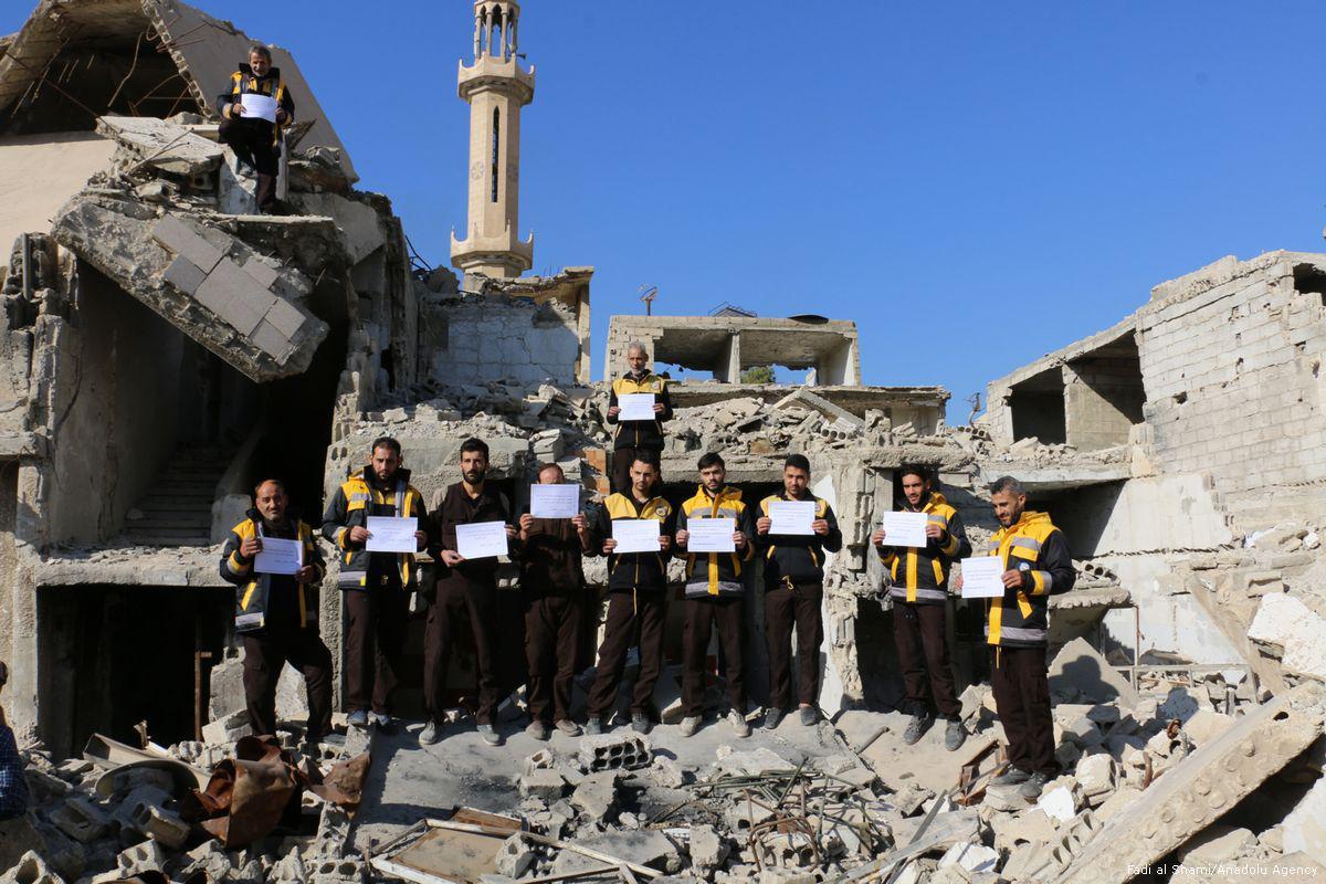 Appel des casques blancs pour sauver la Ghouta
