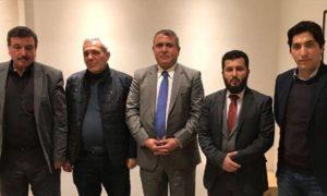 Une délégation de l'opposition syrienne en visite aux Etats Unis, le 16 janvier 2018