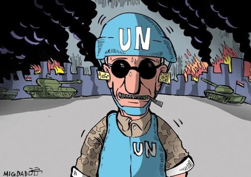 Les Syriens se moquent de l'inaction de l'ONU face au massacre en Syrie