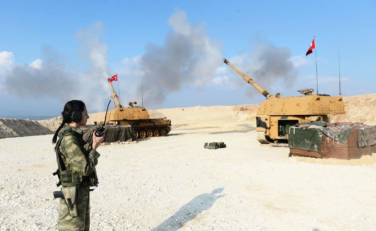Des femmes soldats participent aux opérations de l'armée turque