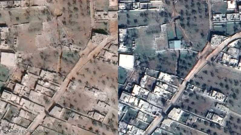 Entre droite et gauche : destruction à la Ghouta pendant 10 jours