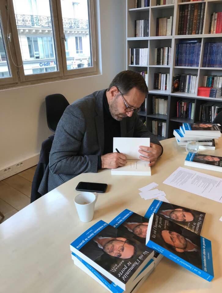 Raphaël Pitti et son nouveau livre