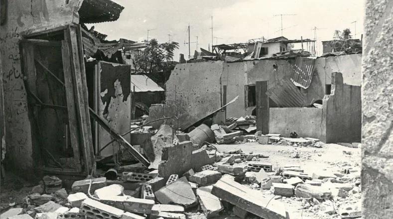 Archive : le camp de Tel Al-zaatar au Liban