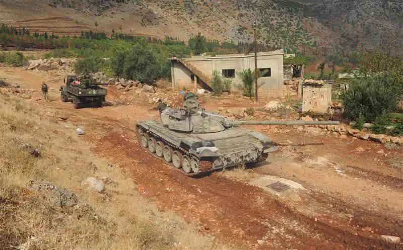 Les renforts du régime à la province de Deraa