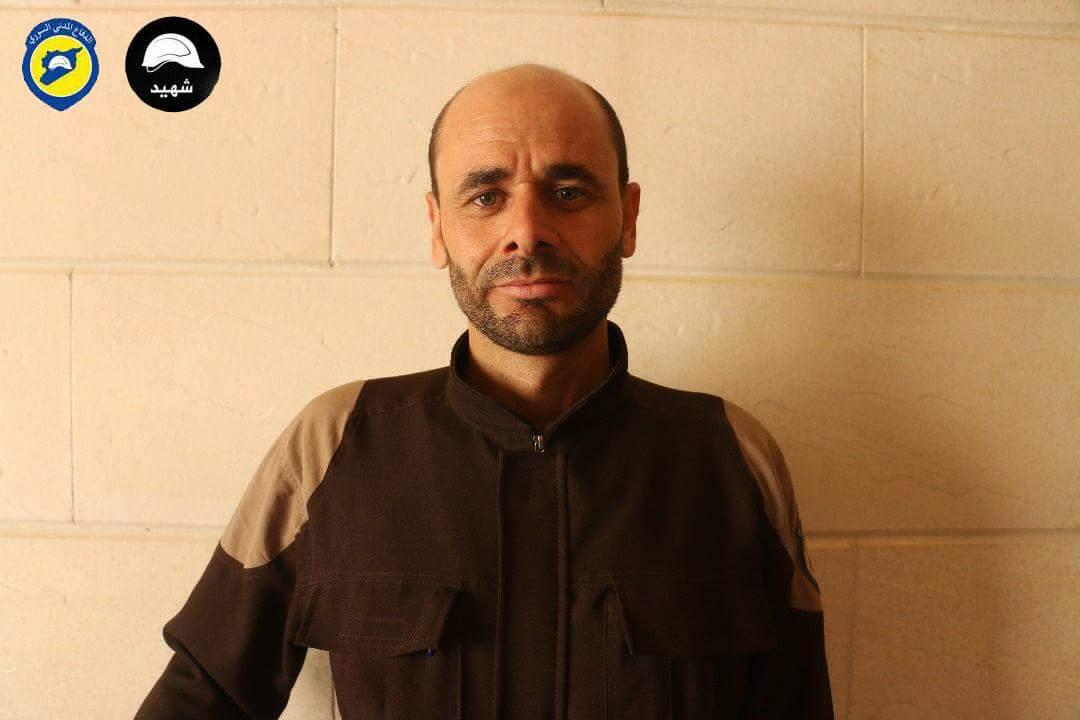 Rifaat Edris, martyr de la défense civile syrienne
