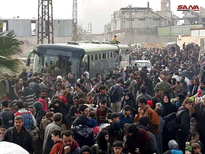 La déportation, aujourd'hui, des habitants d'Hamouria