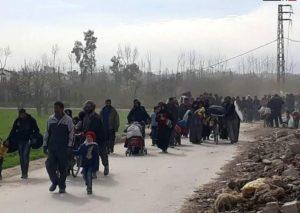 Les habitants d'Hamouria forcés à la quitter
