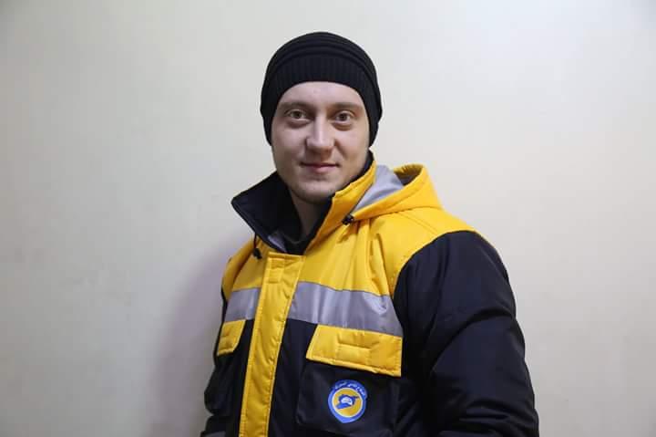 Hassan Al-Husseini, martyr des casques blancs syriens
