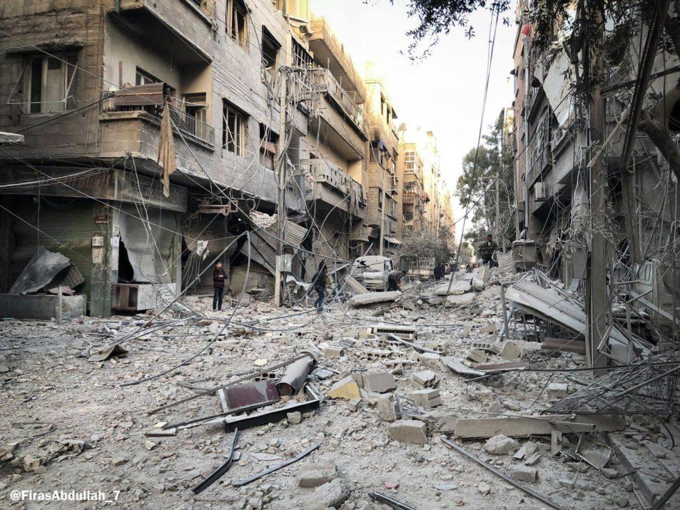 La Ghouta orientale, aujourd'hui