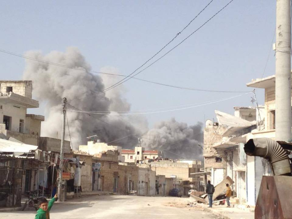 Bombardement de la ville de Binnish