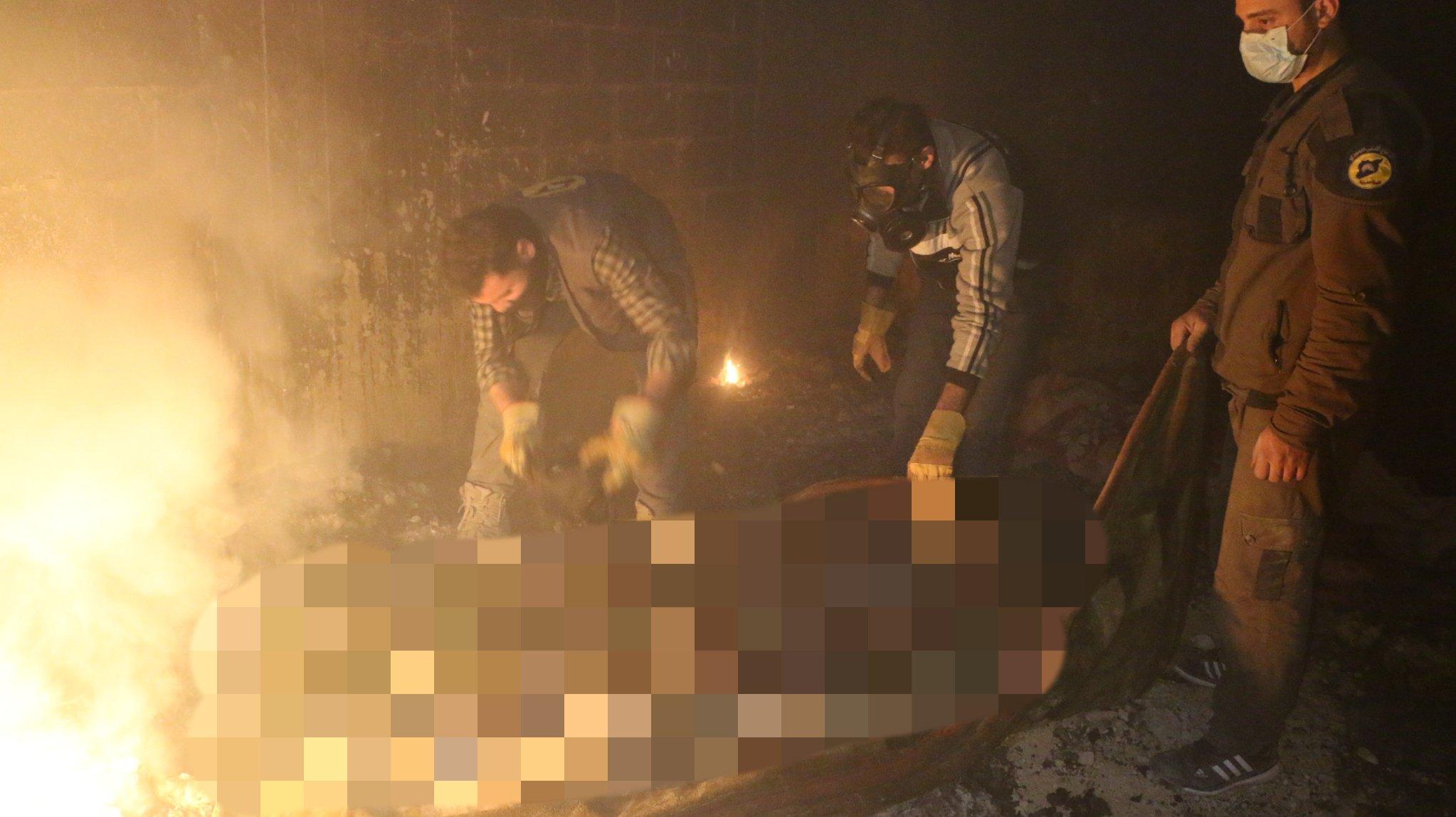 Utilisation de napalm par le régime à la Ghouta orientale