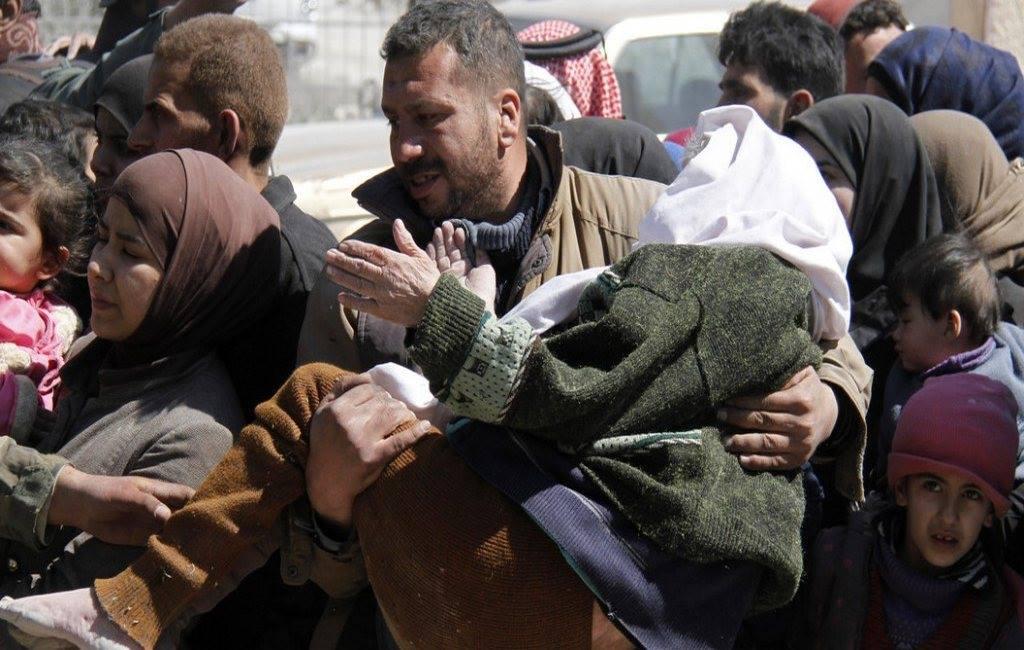 Le grand départ de la Ghouta orientale