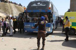 Bus de déportés de la Ghouta