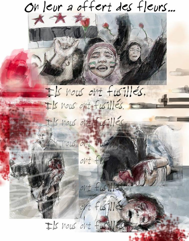 L'histoire de la révolution syrienne par Marc Nelson