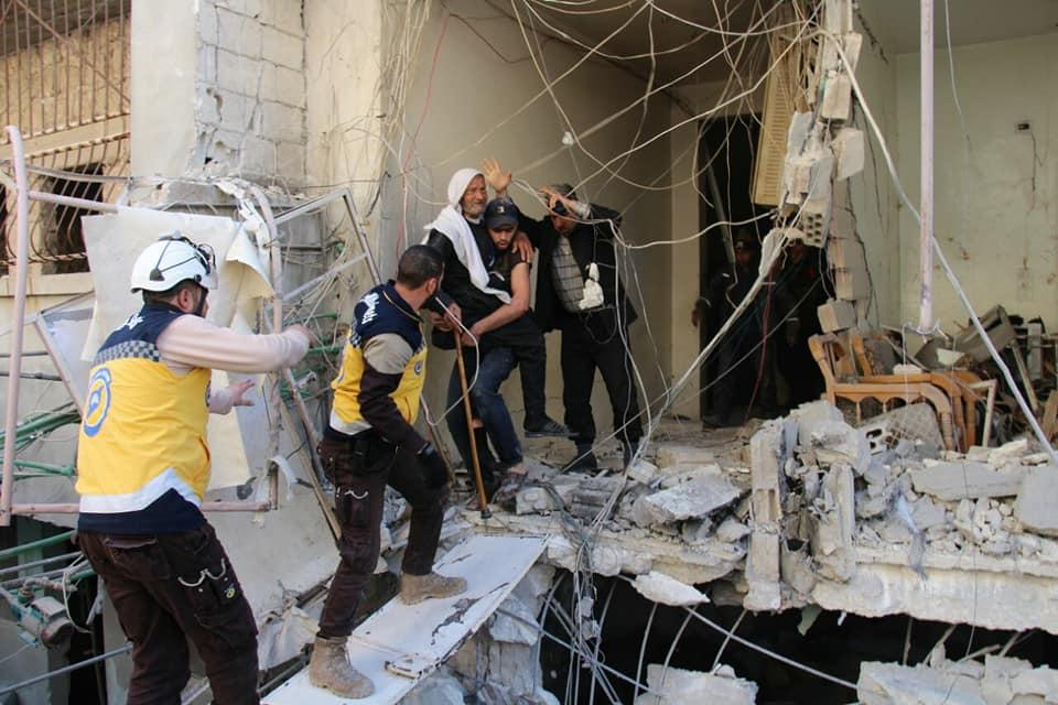 Un raid aérien sur la localité d'Ariha