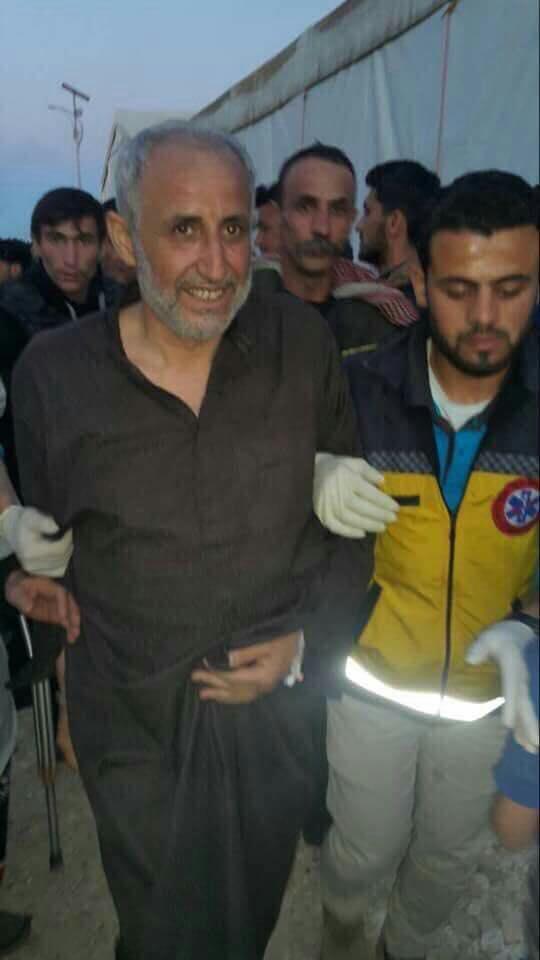 Ahmad Taha, le chef de Jaych Al-Oumma arrivée dans le nord de la Syrie