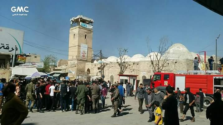 La voiture piégée a fait 6 victimes à Al-Bab