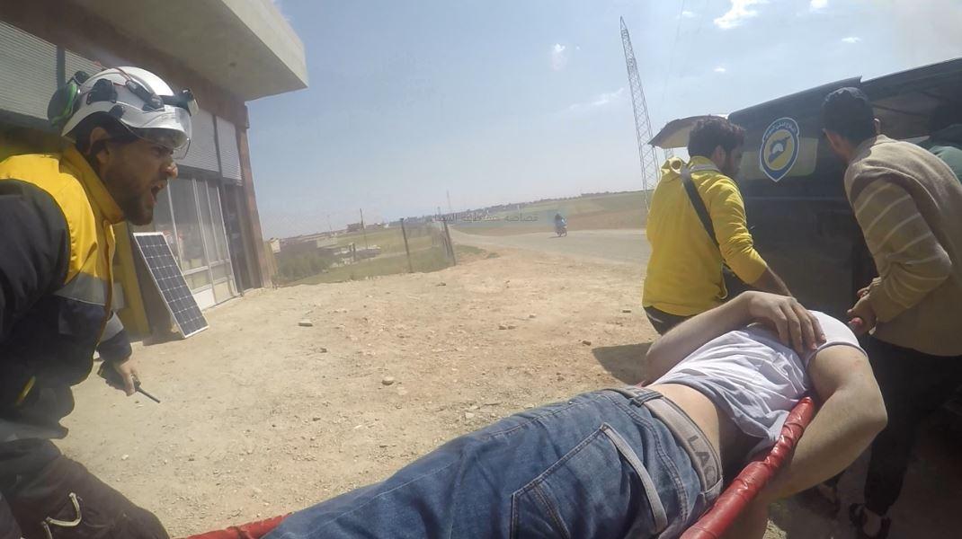 Les raids aériens en province de Homs