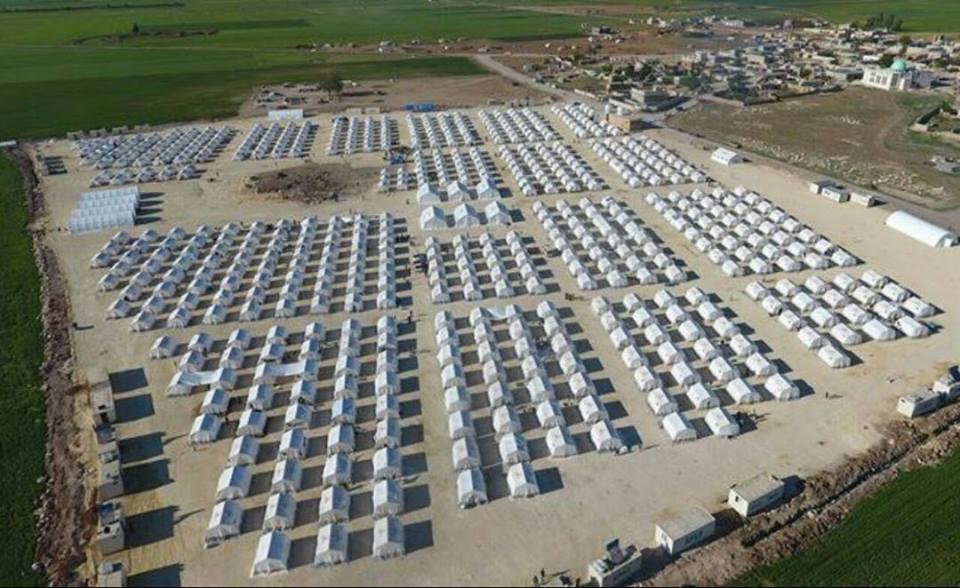 Les nouveaux camps des déportés de Douma