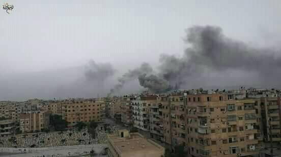 Le bombardement du camp Al-Yarmouk