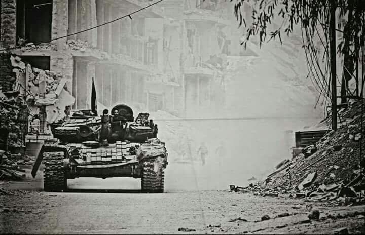 Le char légendaire de Daraya