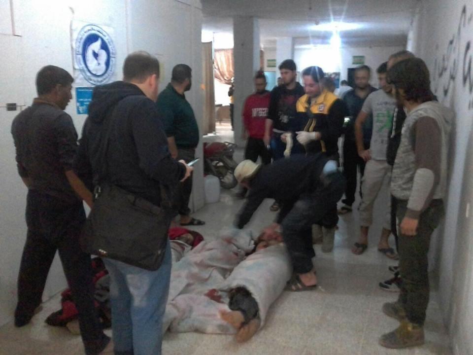Les victimes de Kafr Hamra