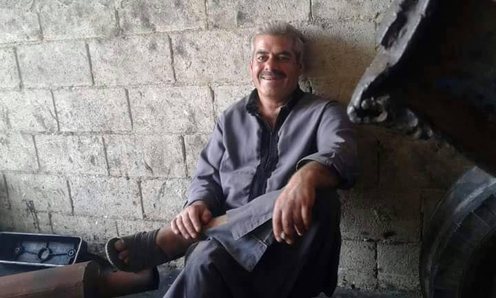 Omar Al-Faraj, victime des bombardements du régime