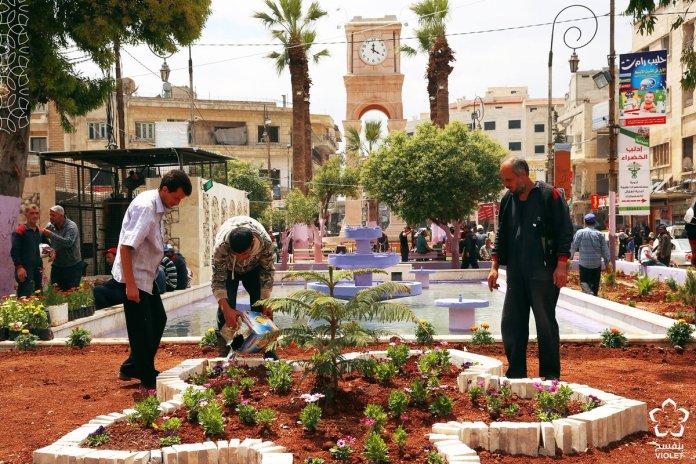 Idlib : la Place Centrale