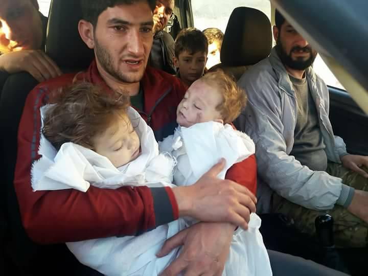 Du massacre de Khan Cheikhoun en 2017 : il a perdu ses bébés jumeaux