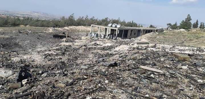 La division 47 bombardée dimanche soir