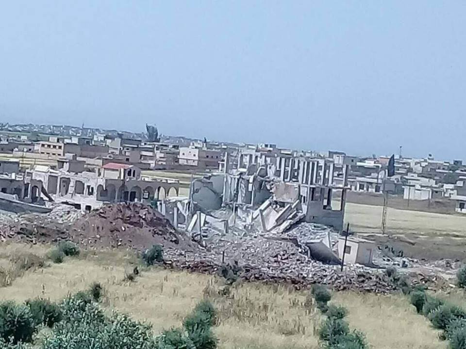 La destruction de l'hôpital de Kafr Zeita