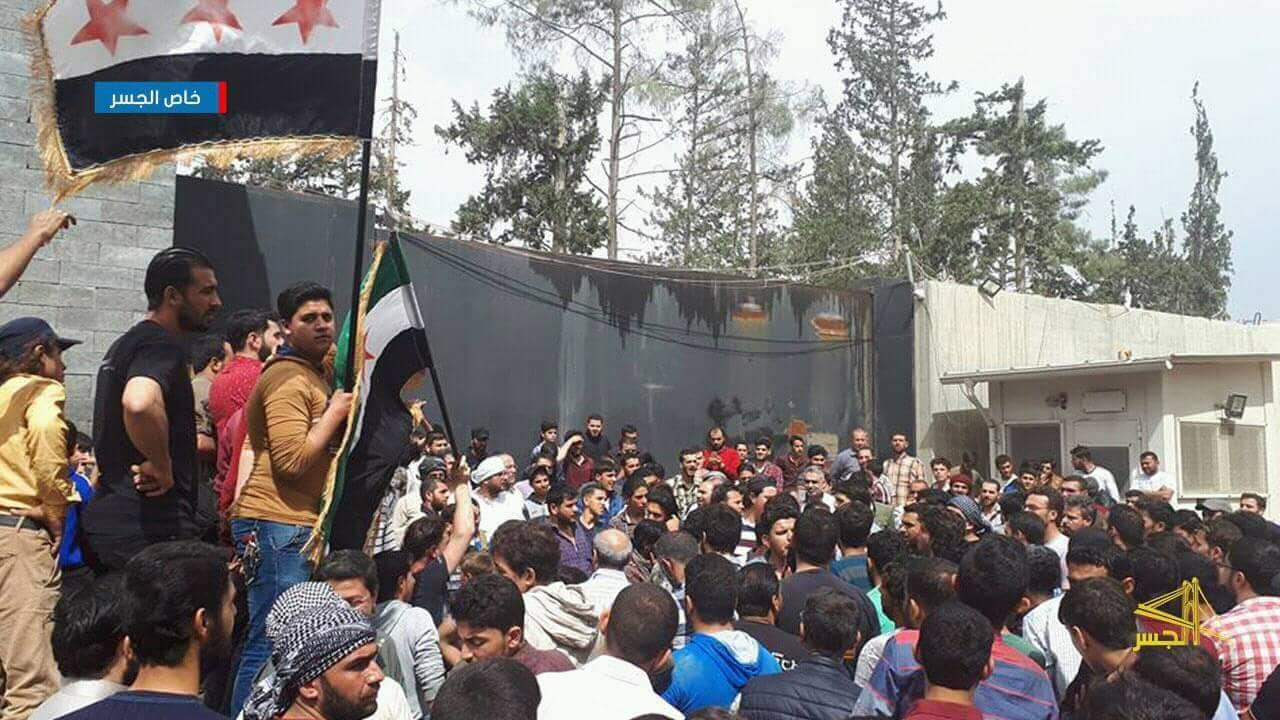 La manifestation de samedi à Al-BAb