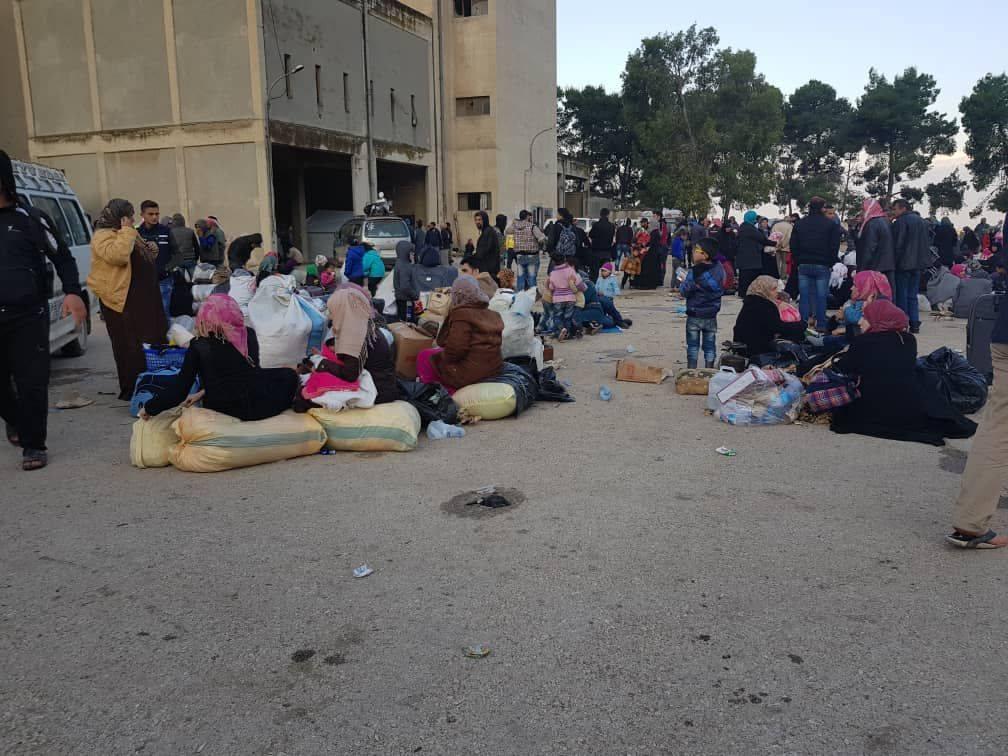 Les déportés en Syrie