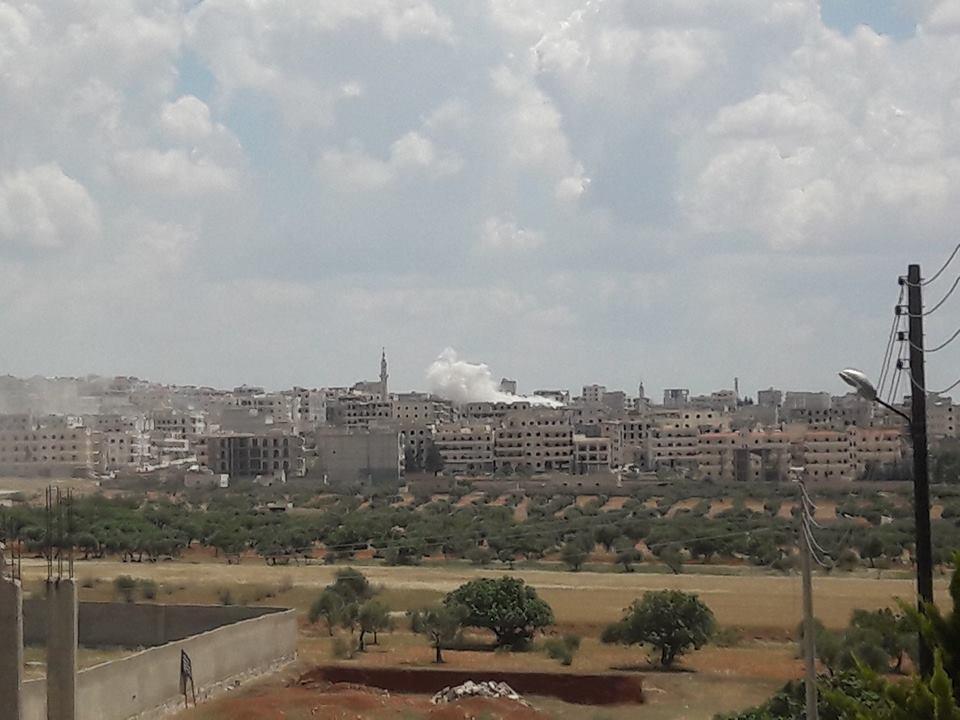 Le bombardement de Kafr Hamra