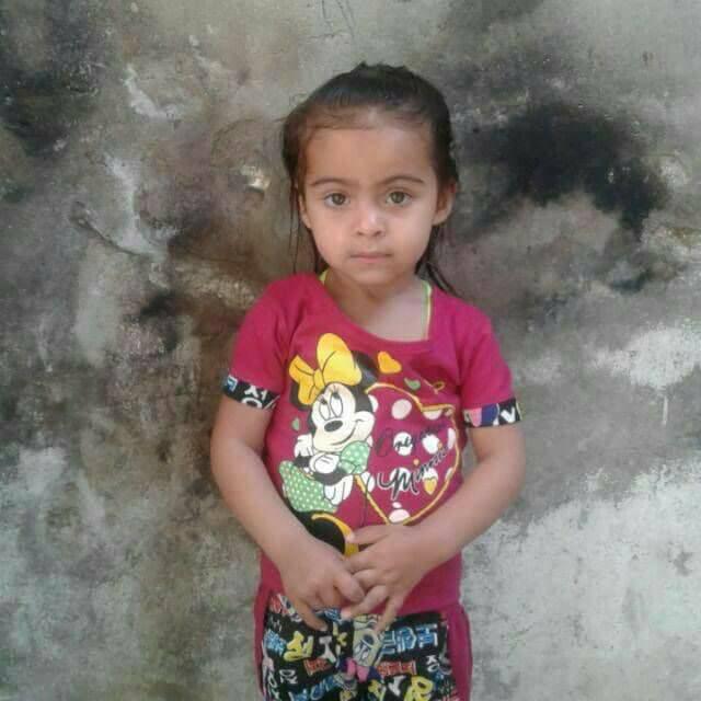 La fillette Zein Al-Sham Al-Ayesh de Deraa
