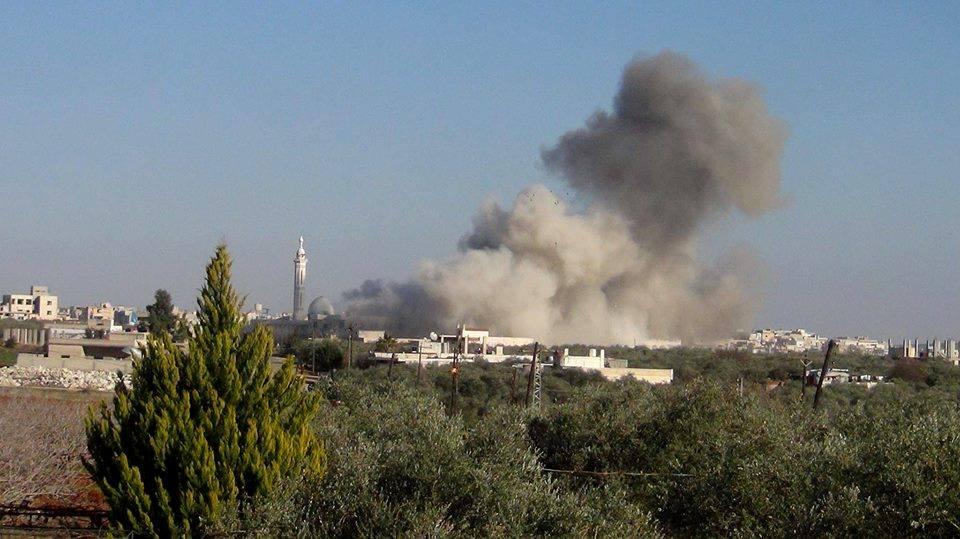 Le bombardement de Kafr Zeita