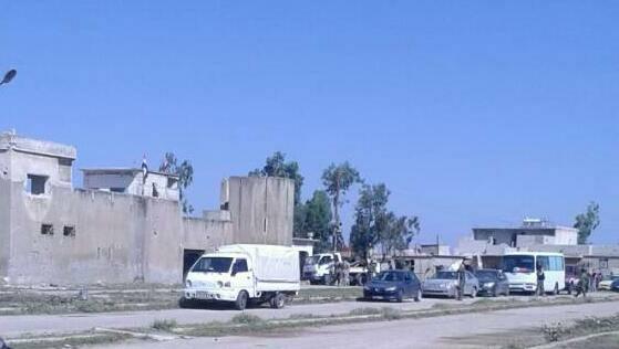 Les cars de déportation à Samalil