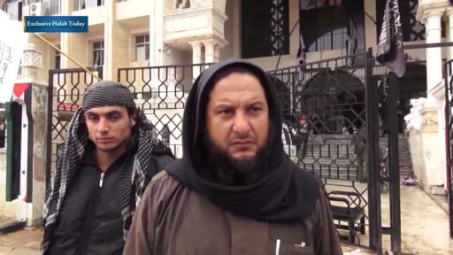 Un commandant du Front Al-Nosra - Idlib 2015