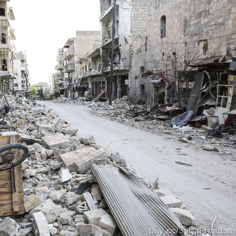 Rue du marché - Maraat Al-Numan 23 novembre 2012