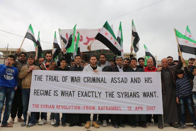 Bannière de Kafranbel - 2017